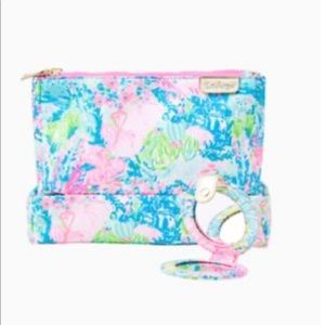 🌴Lilly Pulitzer🌴 NWOT Double Cosmetic Case